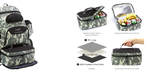 Best Fishing Backpack with Cooler